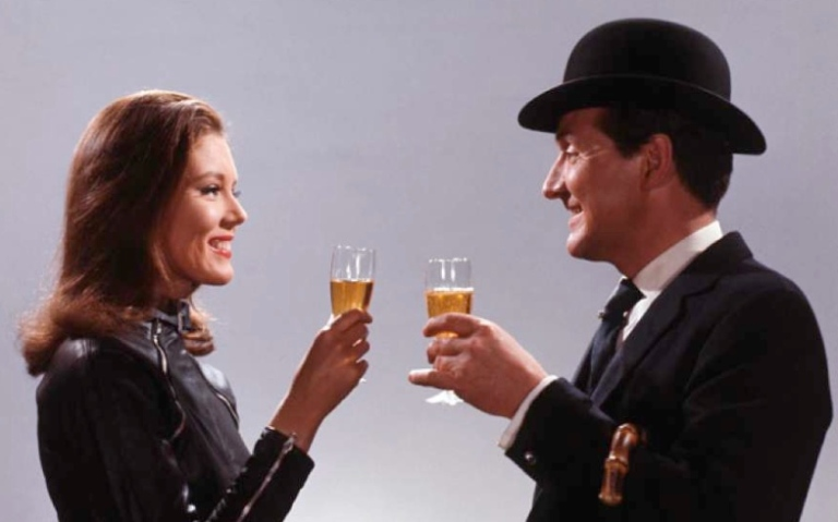 john-steed-emma-peel-splash