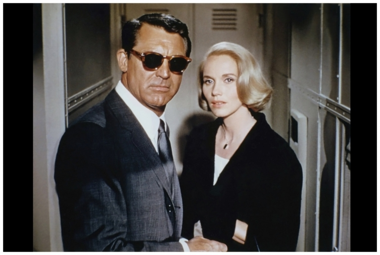 cary-grant-and-eva-marie-saint-on-the-set-of-22north-by-northwest22-directed-by-alfred-hitchcock-1959